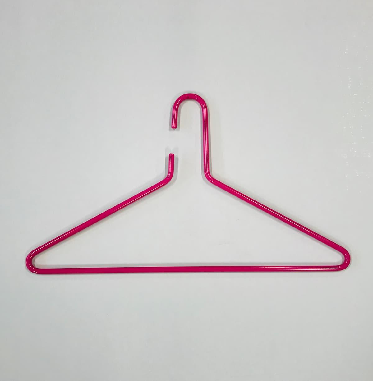 Triangel galge rosa 1