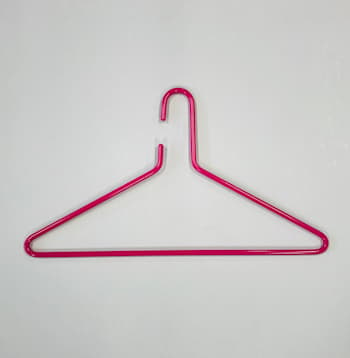 Triangel galge rosa 2