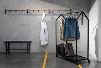Clothing House shoe shelf 3