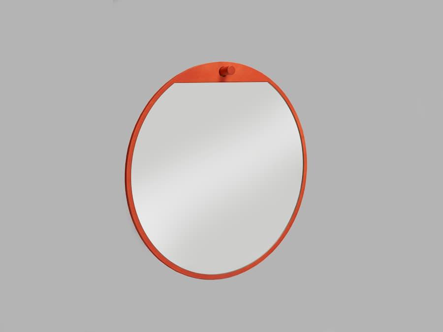 Tillbakablick spegel rund 1