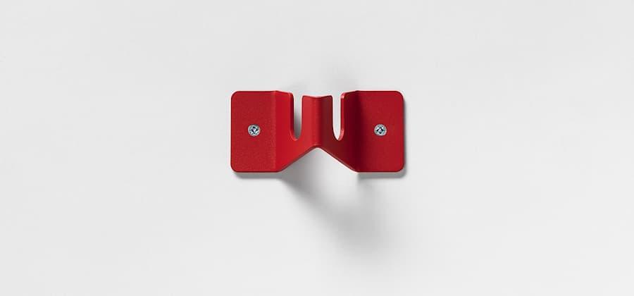 Point  enkelt rød struktur 1