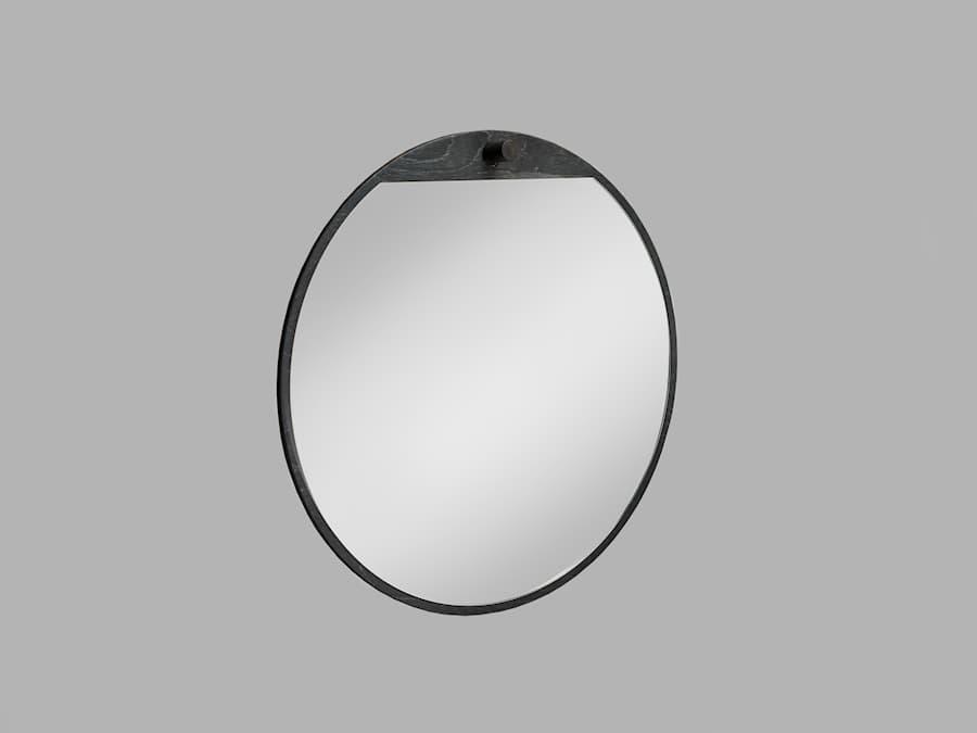 Tillbakablick spegel rund 2