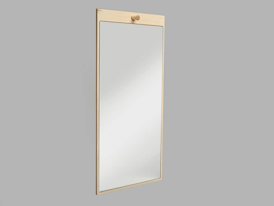 Tillbakablick speil rektangel 2