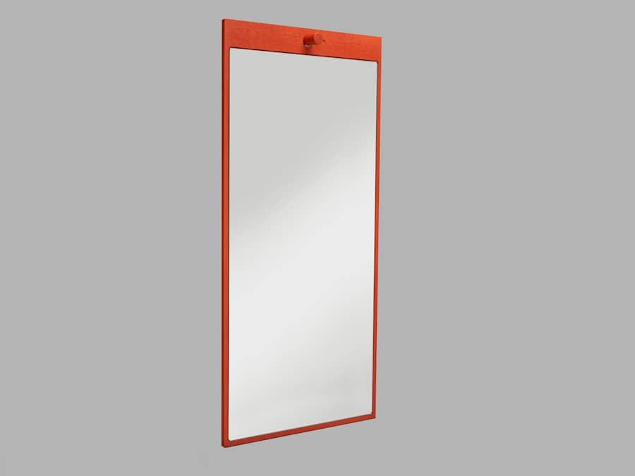 Tillbakablick speil rektangel 3